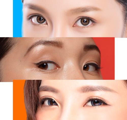 雙眼皮手術-各種眼睛